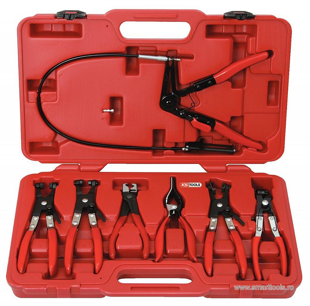 Set Clesti Coliere Auto, 7 piese, Ks Tools